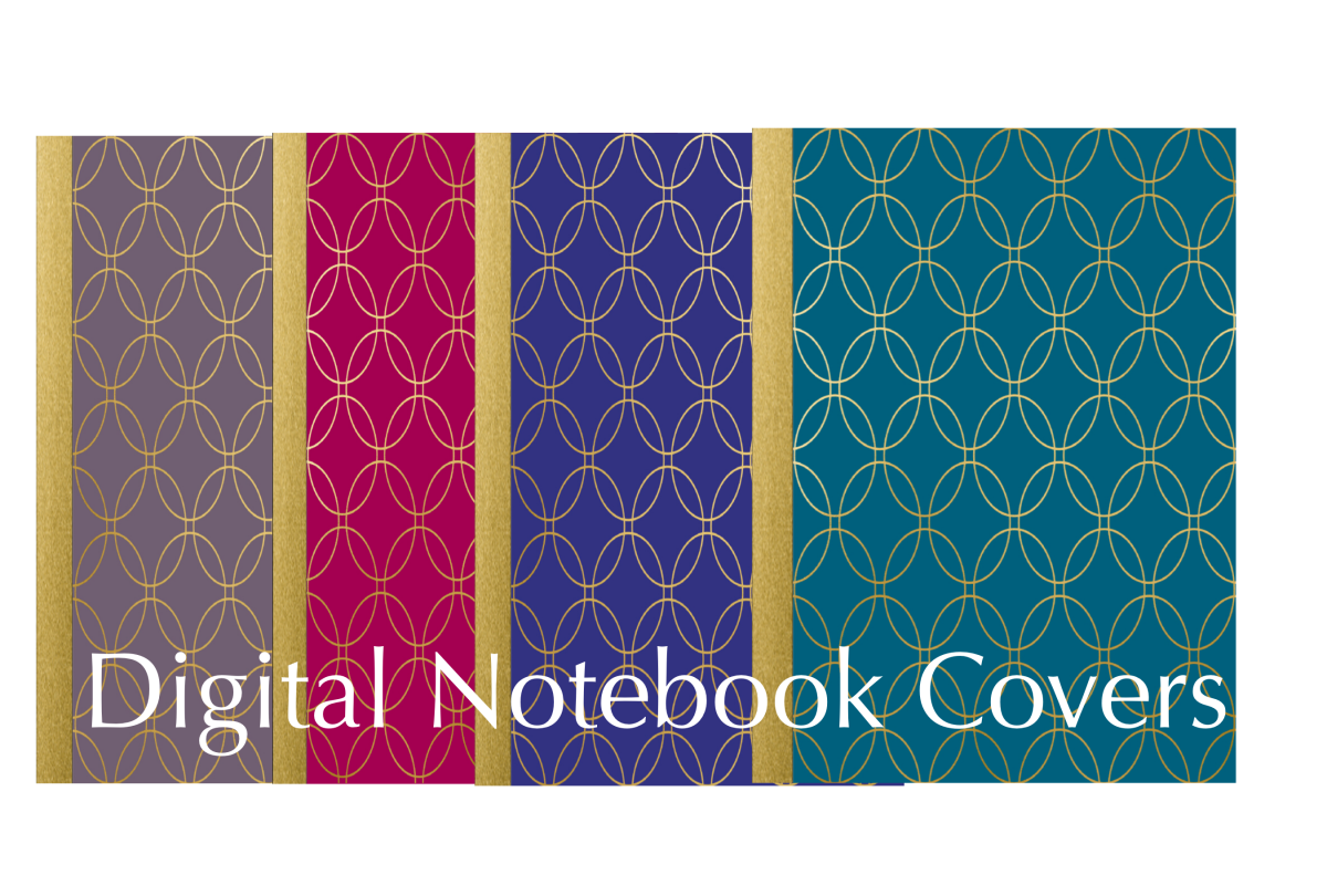 Four Digital Planner/Notebook Covers example image 1