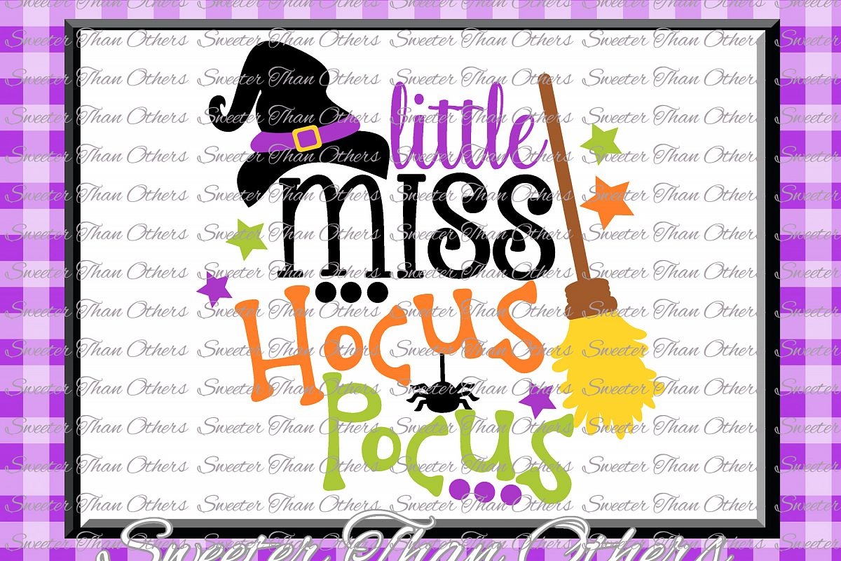 Halloween svg, Little Miss Hocus Pocus svg example image 1