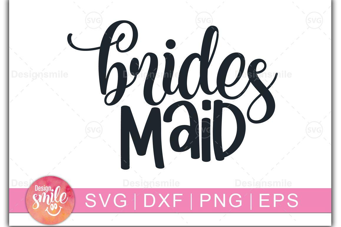 Brides Maid SVG | wedding svg |Engagement svg example image 1