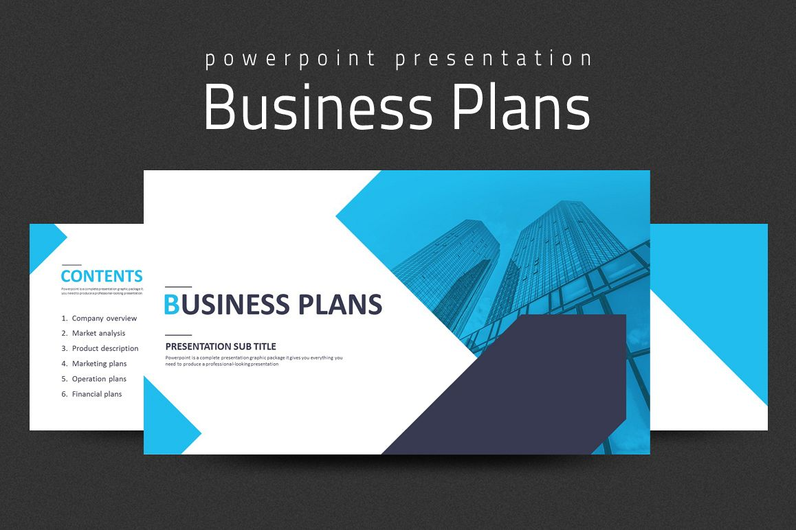 Business Plans Presentation Strategy example image 1