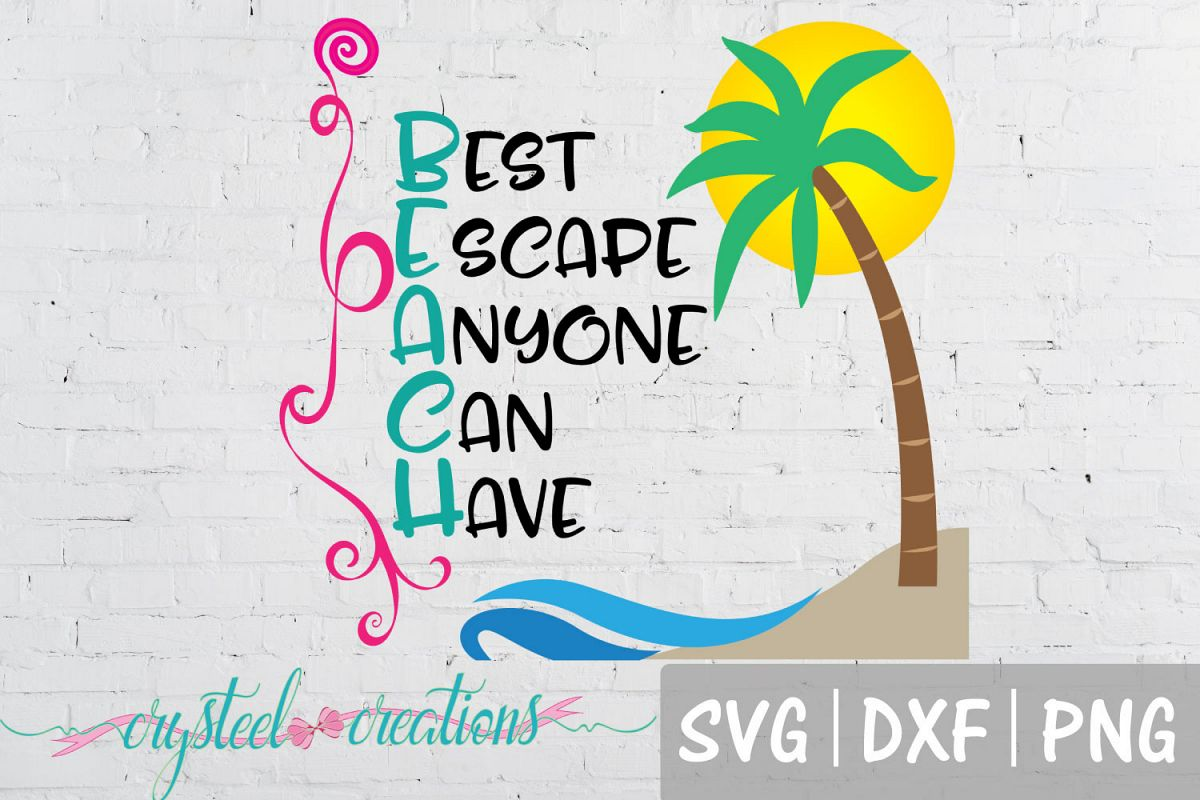 """Beach- """"Best Escape Anyone Can Have"""" example image 1"""