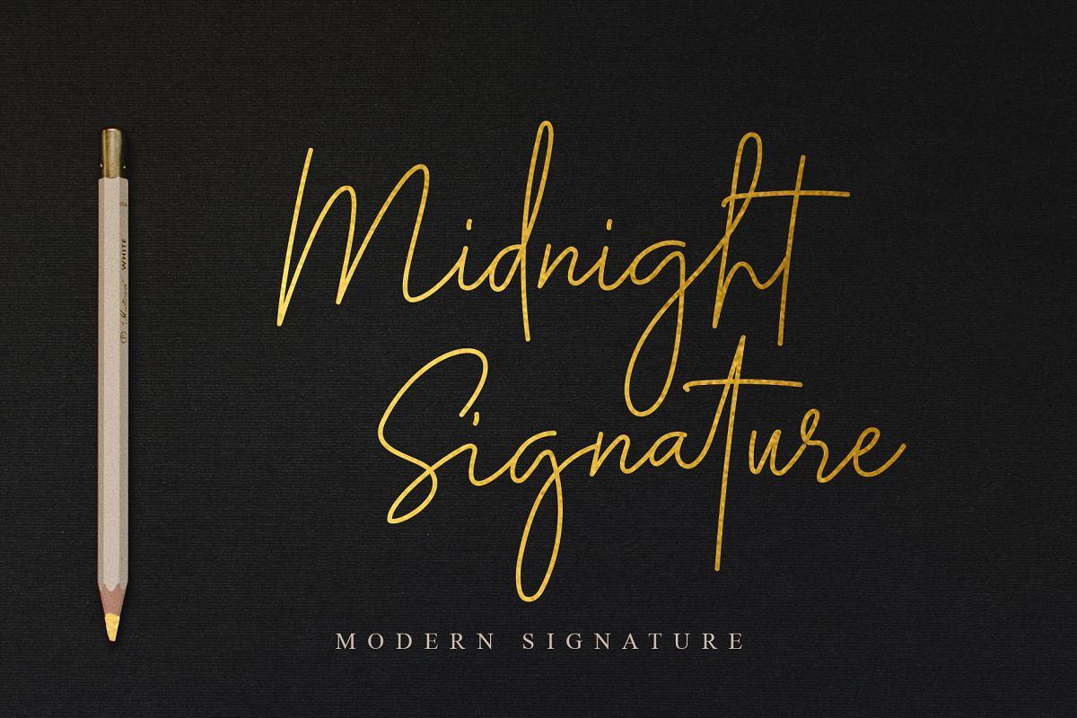Midnight Signature example image 1