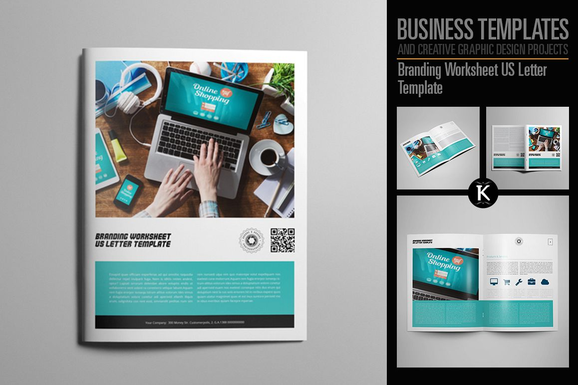 Branding Worksheet US Letter Template example image 1