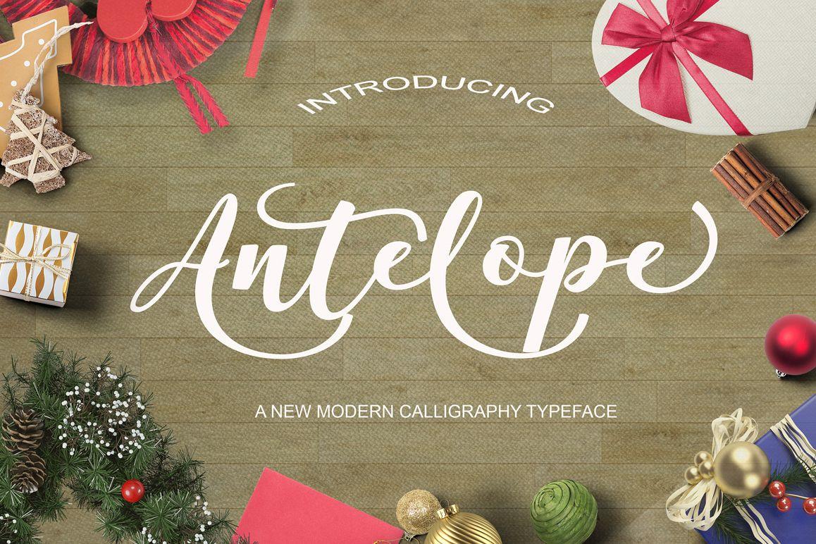 Antelope Script example image 1