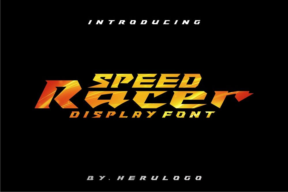 Speed Racer example image 1