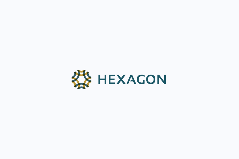 Hexagon logo example image 1
