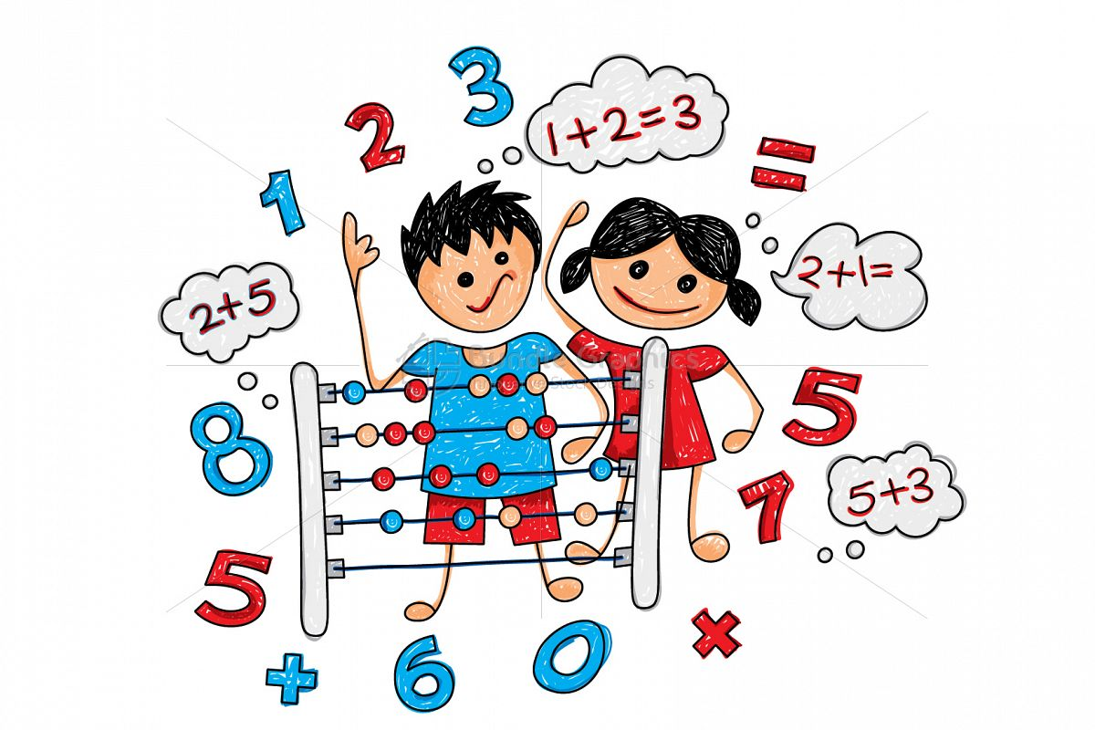 Primary Abacus Class Graphical Illustration example image 1