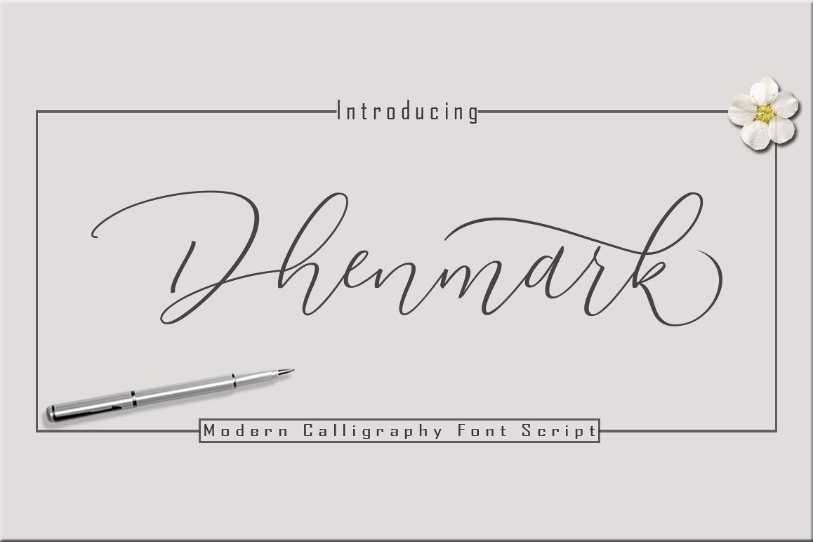 Dhenmark Font Duo example image 1