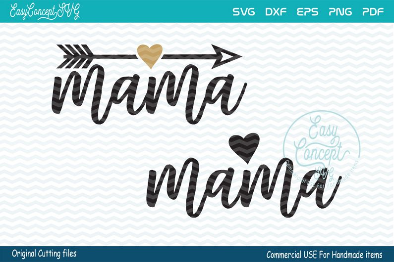 Mama svg, mom svg, mom life, New Mom example image 1