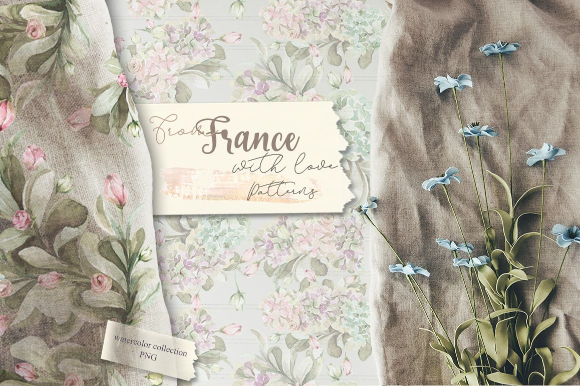 From France with love. Patterns example image 1