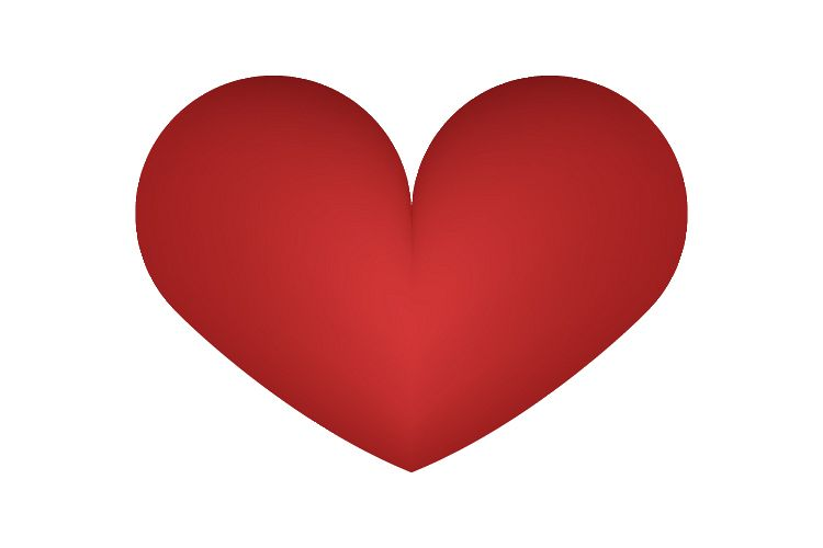 Heart icon example image 1