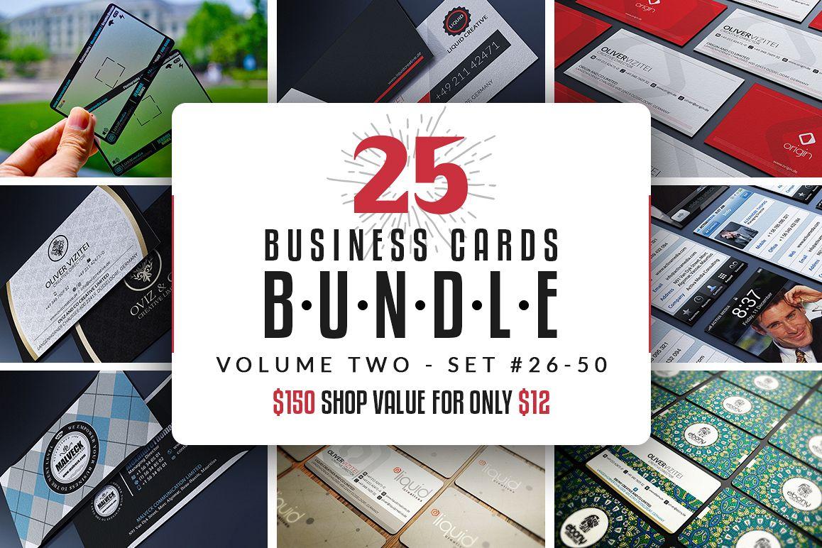 25 Business Cards Bundle - Vol 02 example image 1