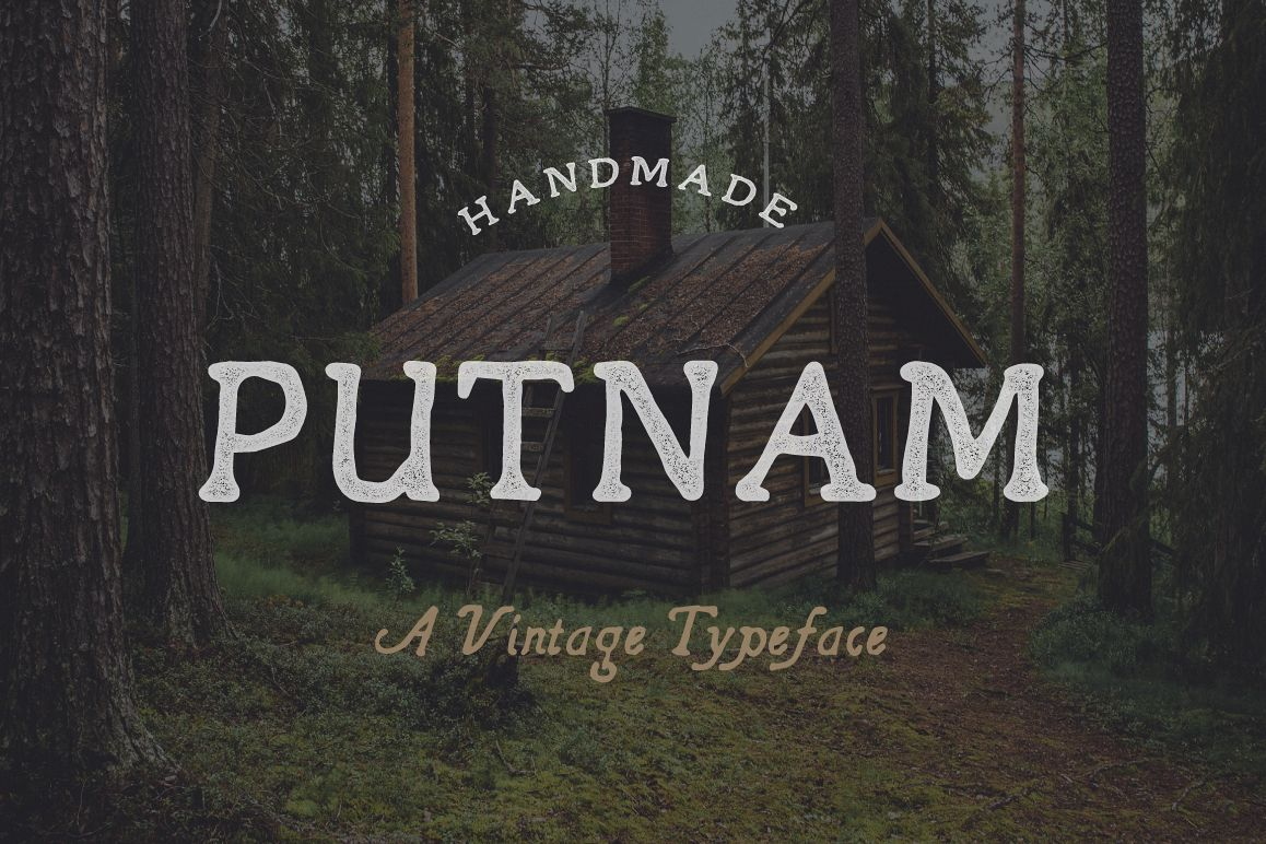 Putnam | A Vintage Typeface example image 1