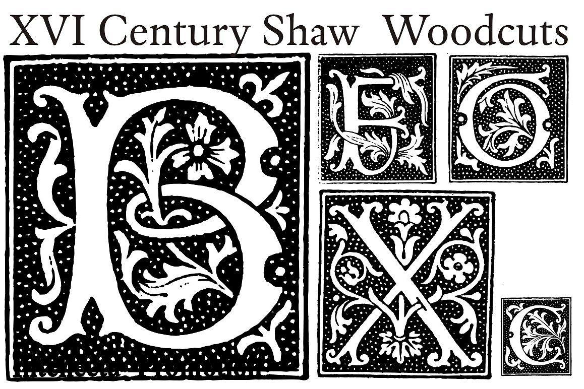 XVI Century Shaw Woodcuts example image 1