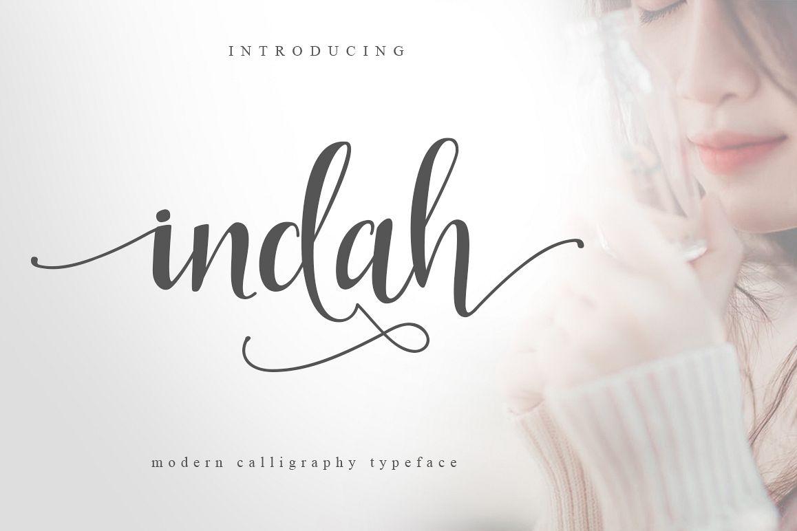 Indah Script example image 1