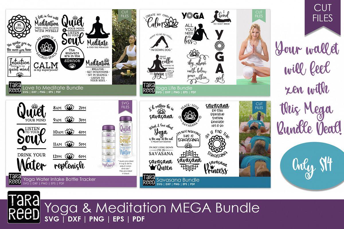 Yoga and Meditation MEGA Bundle example image 1