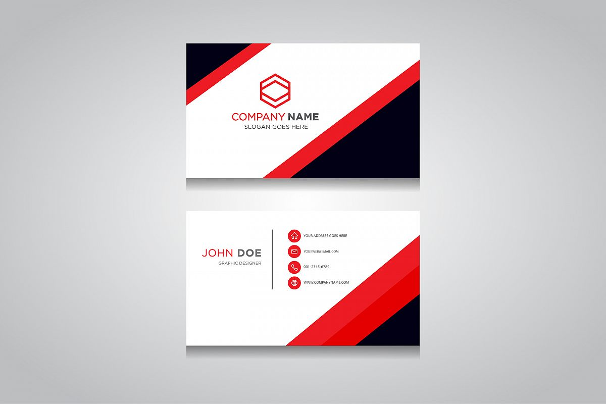 Business card template creative business card business card template creative business card example image 1 friedricerecipe Image collections