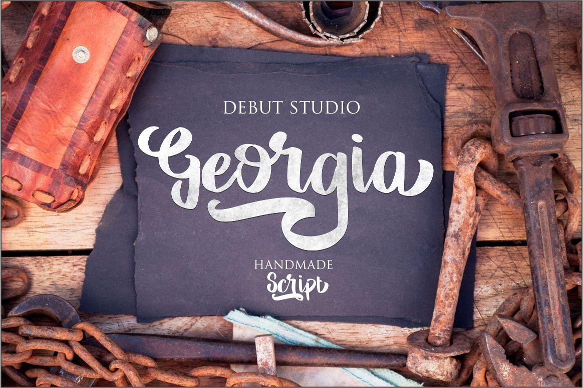 Georgia Script example image 1