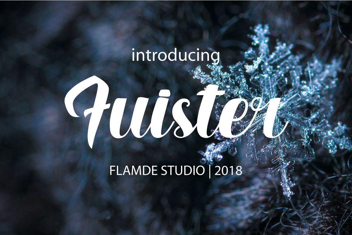 Fuister Script example image 1