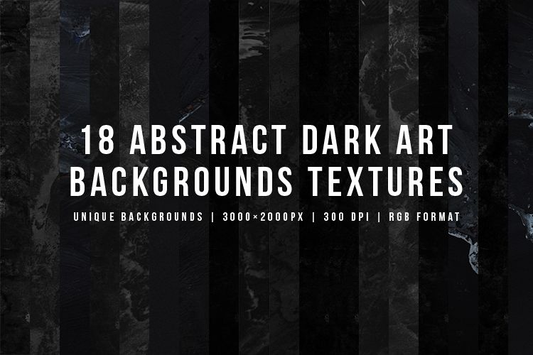 Abstract Dark Art Backgrounds Textures example image 1