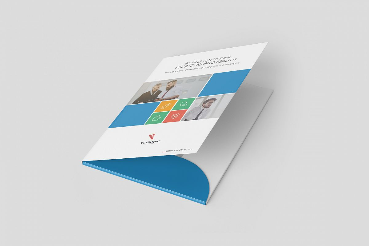 Presentation Folder Template - 01 example image 1
