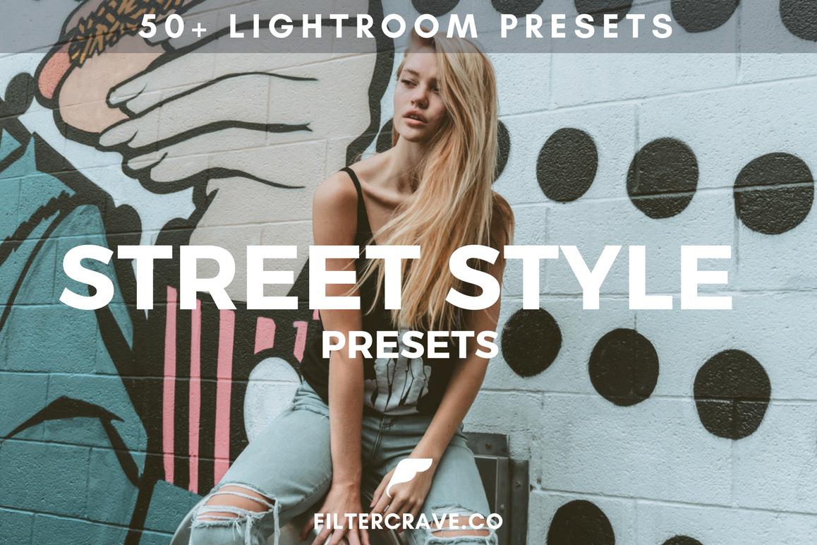 50 Street Style Lightroom Presets Bundle example image 1