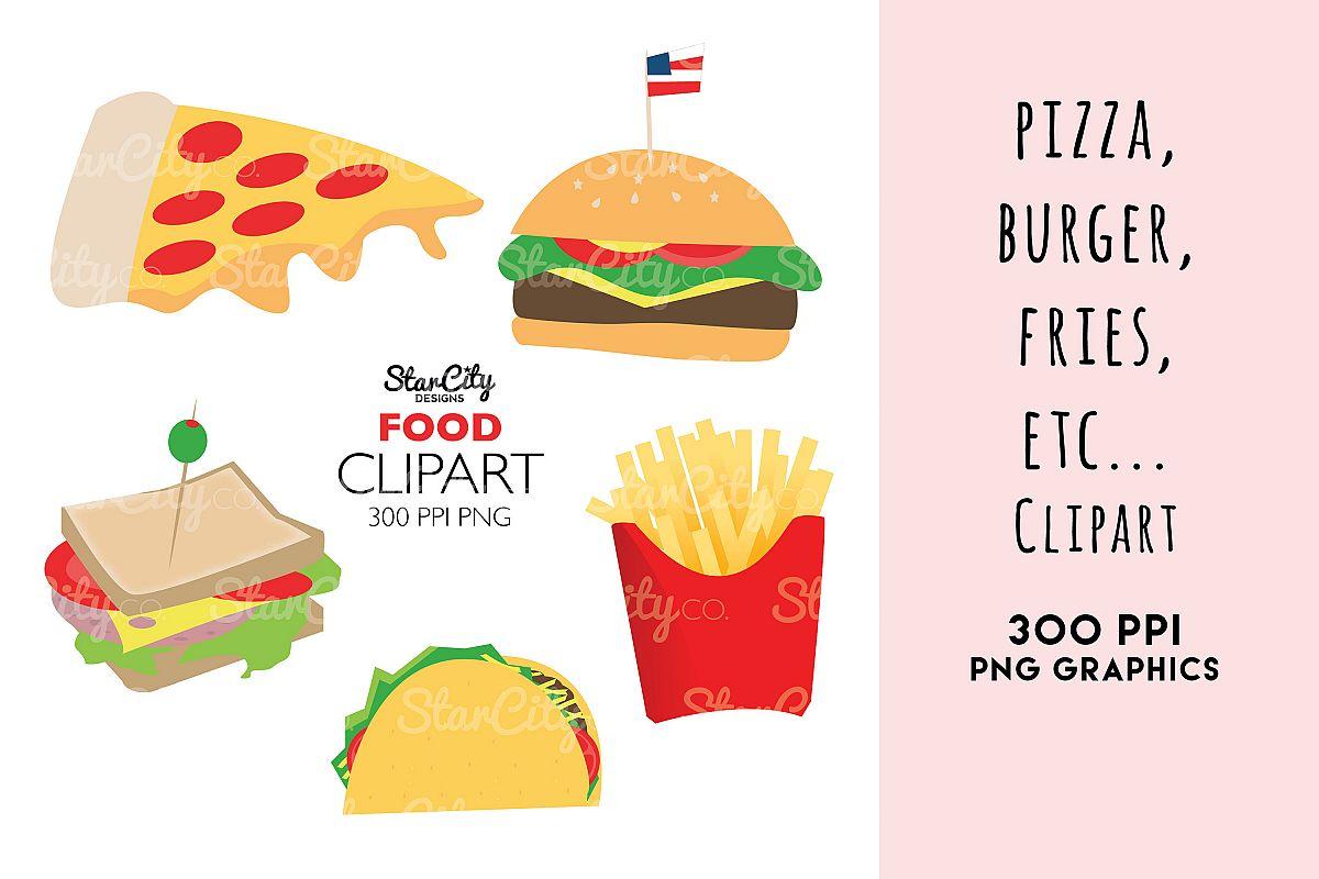 Food Clipart graphics, Hamburger clipart (244033 ...