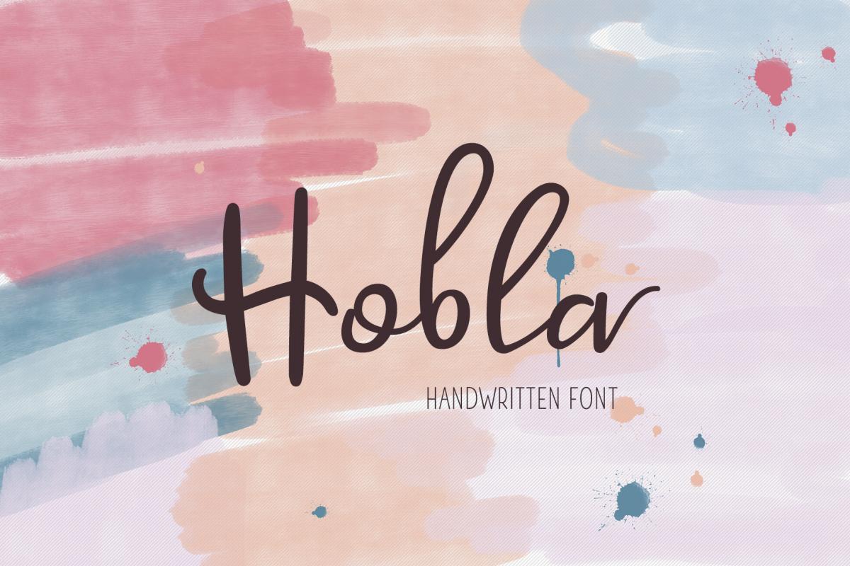Hobla Script example image 1