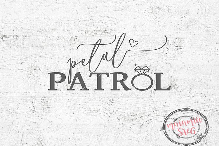 Petal Patrol Svg, Bridal Svg, Wedding Svg, Petal Patrol example image 1