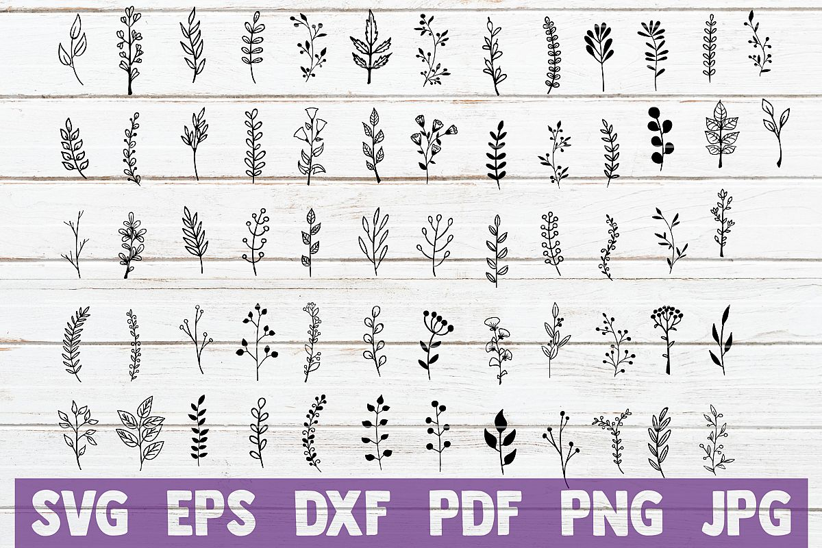 Branches SVG Cut Files | commercial use example image 1