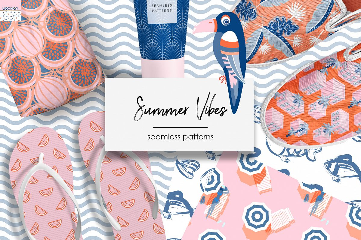 Summer Vibes - Graphics & Patterns example image 1