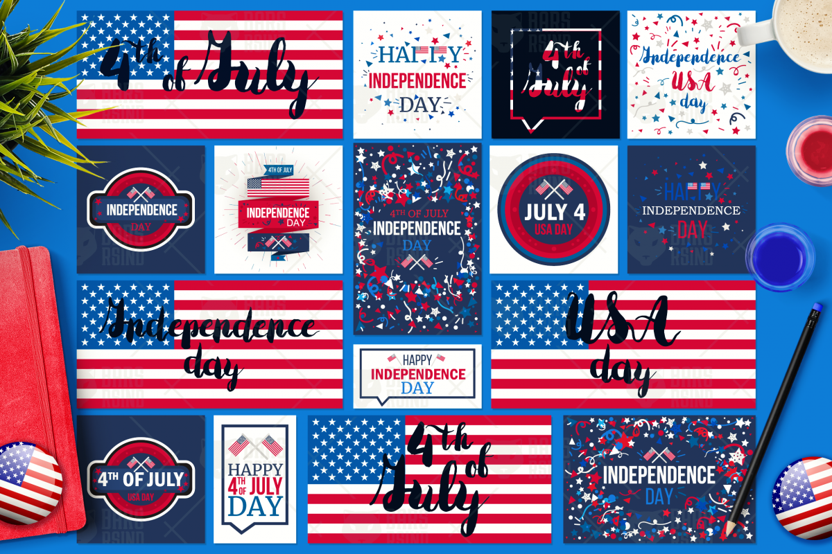 4th Of July Banners example image 1