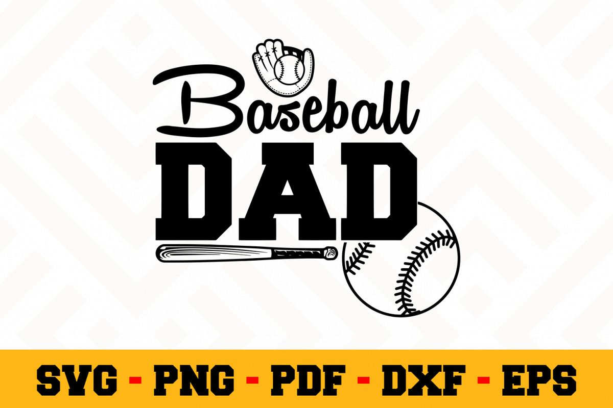 Baseball SVG Design n557 | Baseball SVG Cut File example image 1