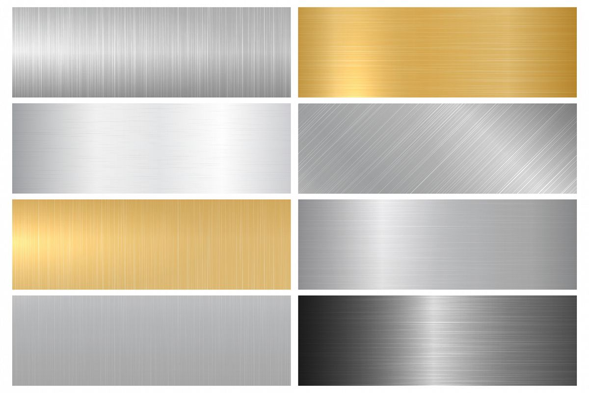 Metal textures. Panels. example image 1