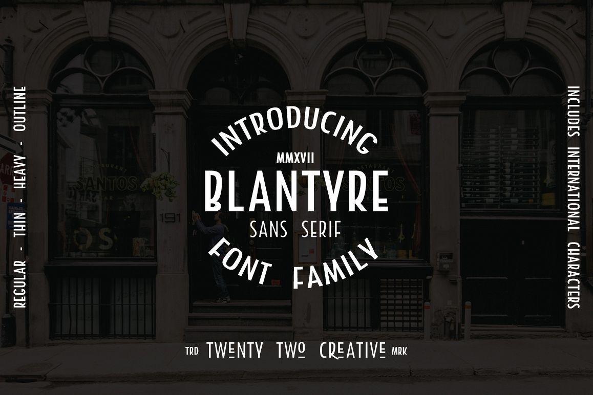 Blantyre - A New San Serif example image 1