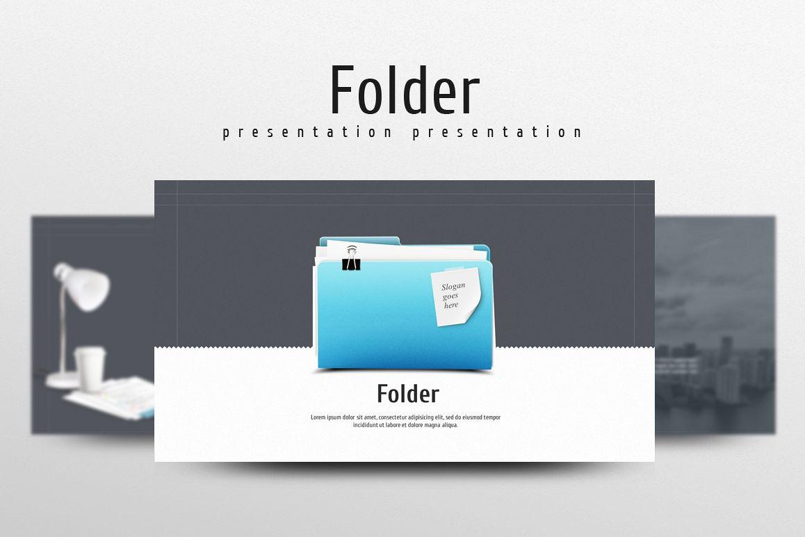 Folder PPT example image 1