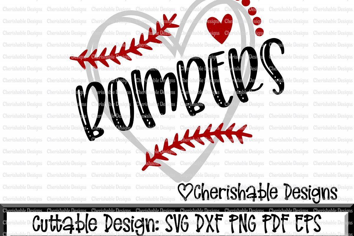 Download Baseball Svg, Softball Svg, Bombers Baseball Cutting file ...