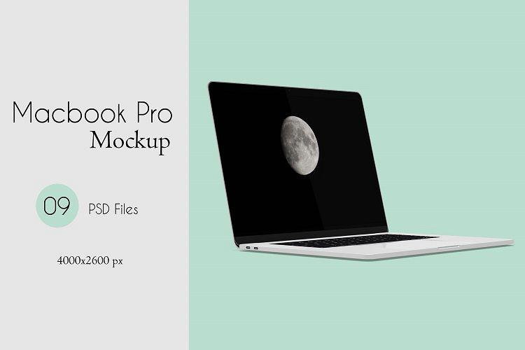 Macbook Pro Mock-Ups example image 1