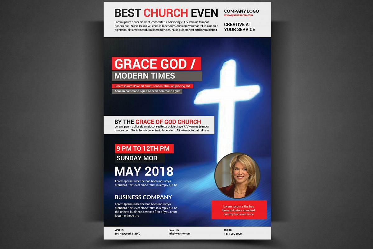 CHURCH FLYER example image 1