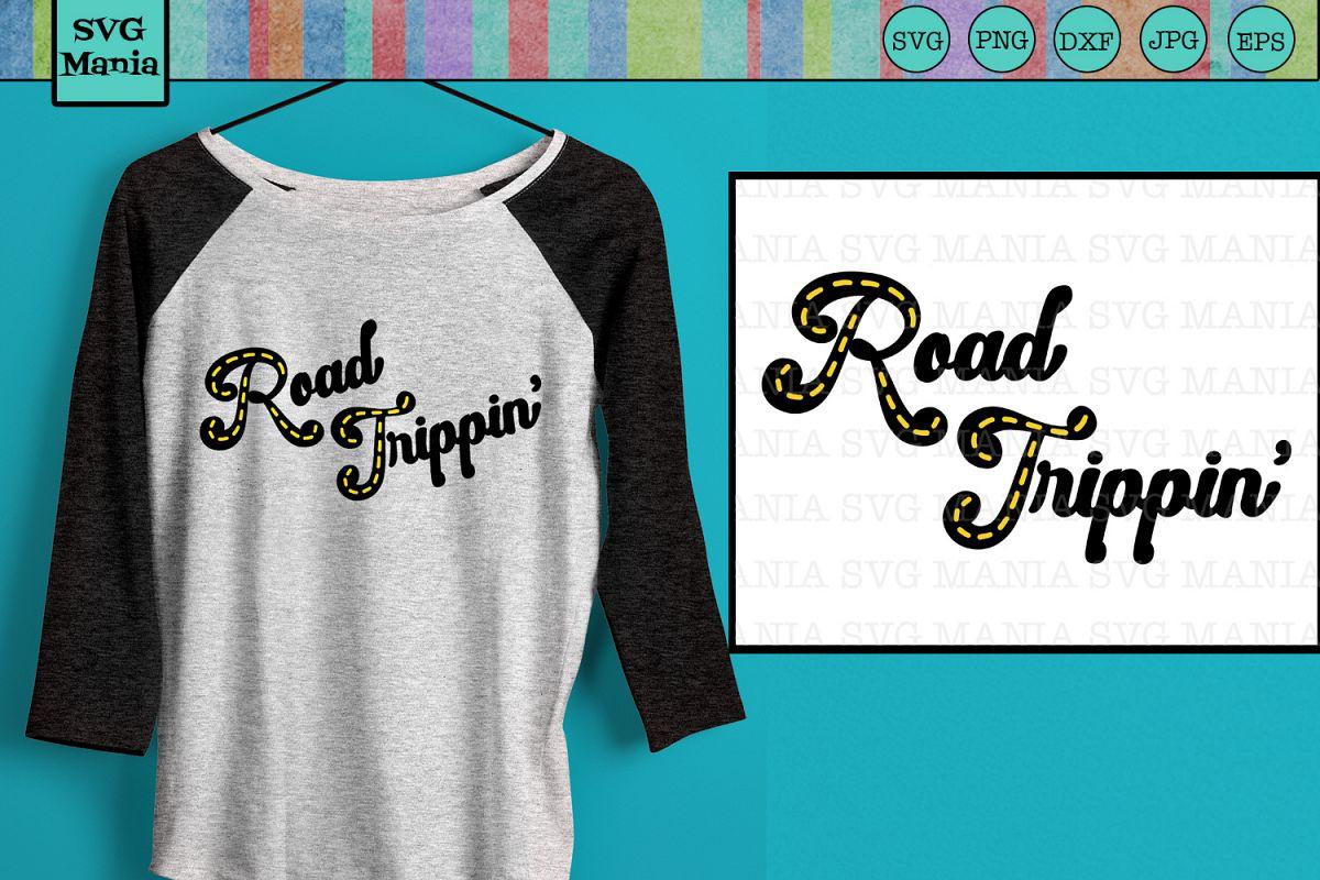 Road Trip Shirt SVG, Matching Vacation Shirt SVG File, SVG example image 1