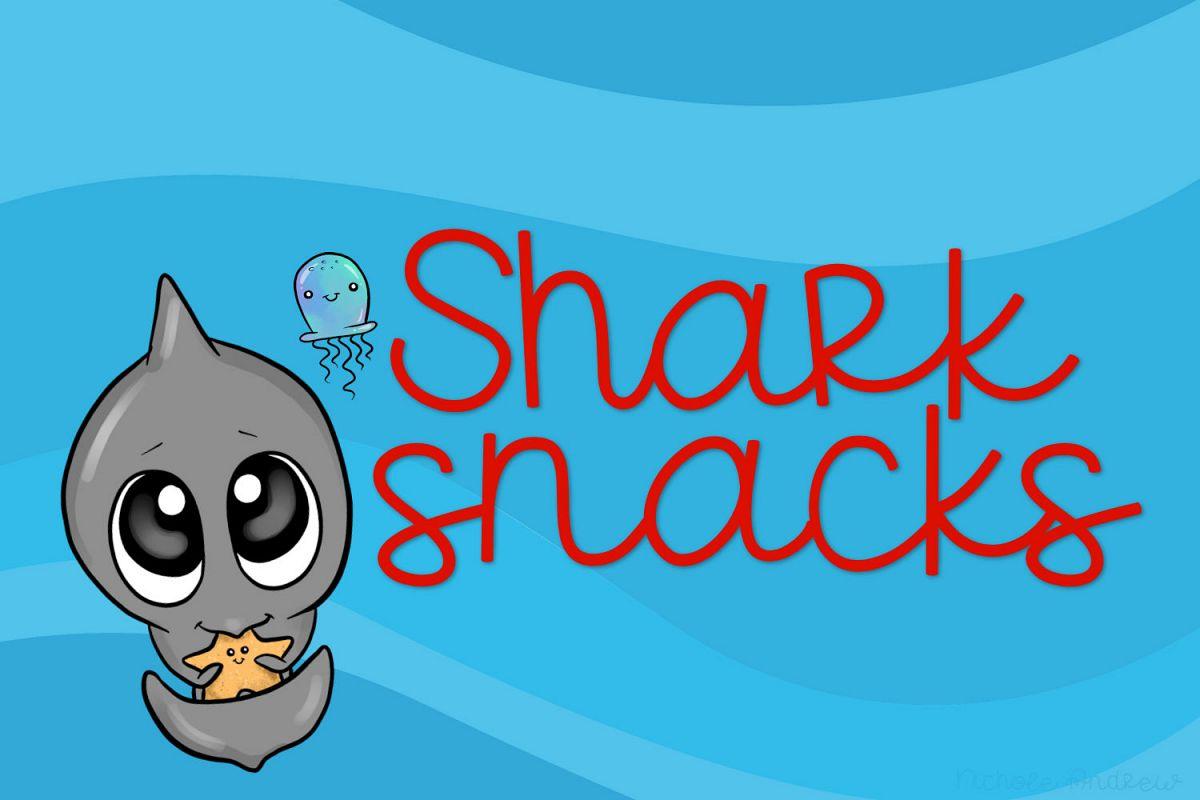 Shark Snacks - A Fun Script Font example image 1