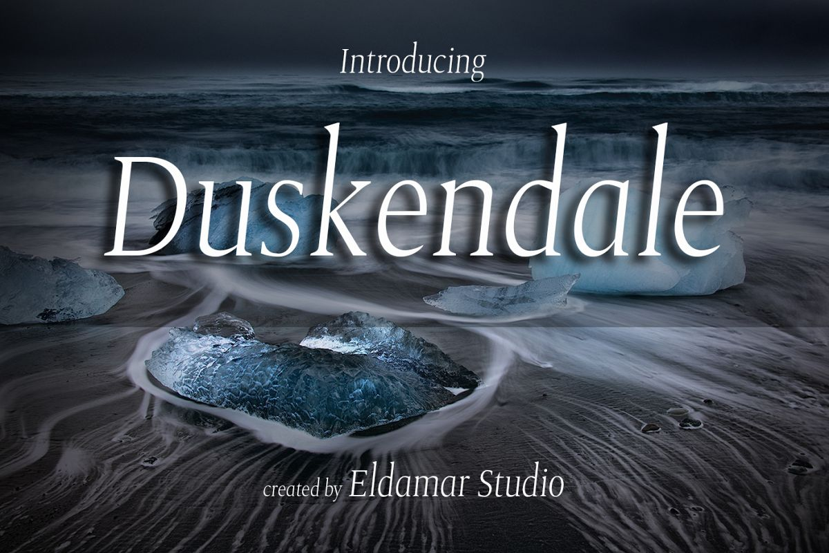 Duskendale Font example image 1