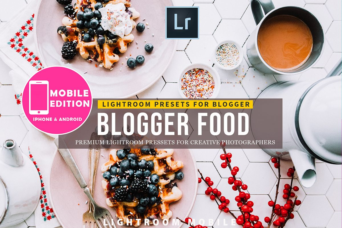 Food Blogger Lightroom Presets example image 1
