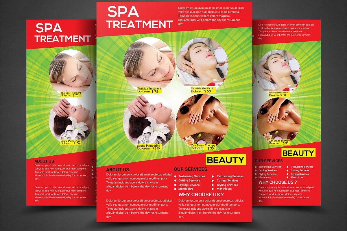 Spa & Beauty Flyer example image 1