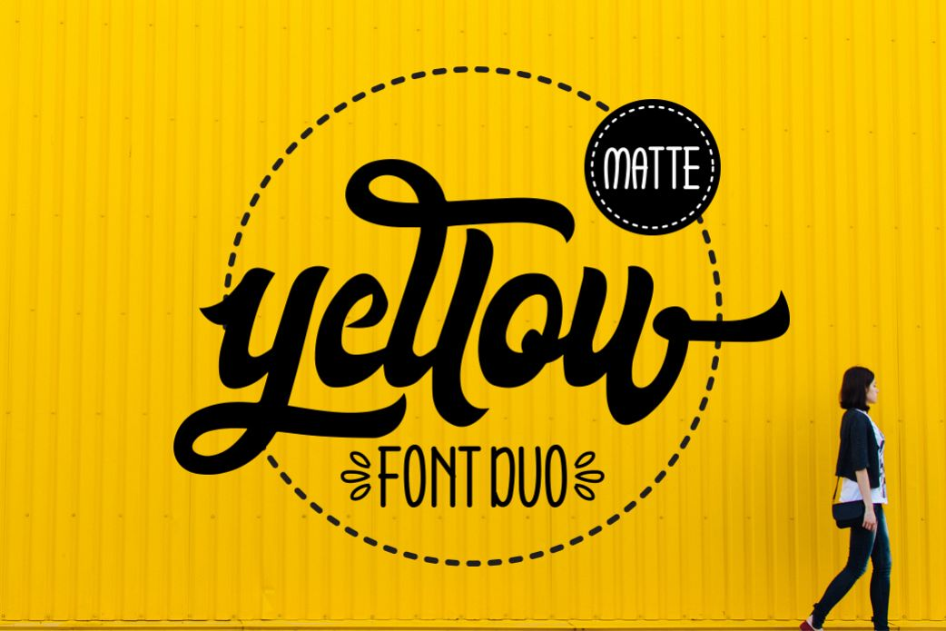 Yellow Matte example image 1