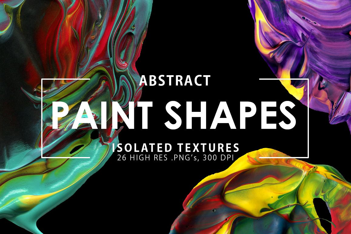 Abstract Paint Shapes example image 1