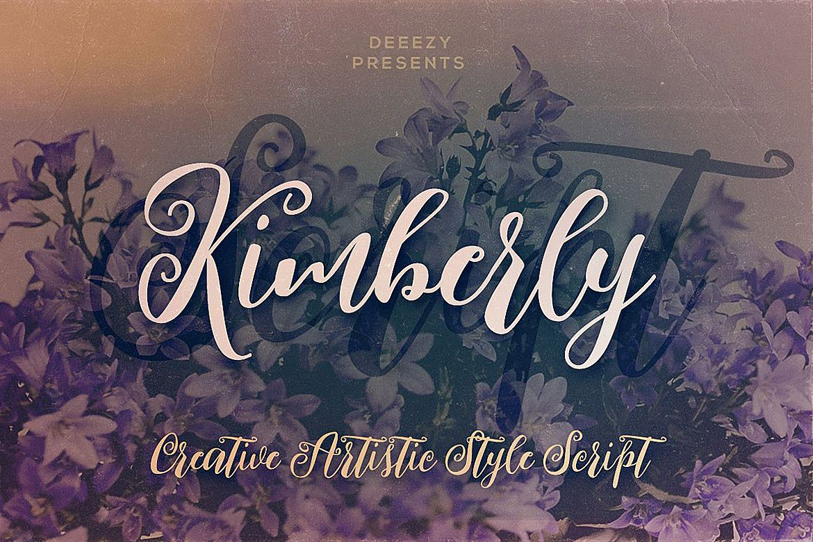 Kimberly Script Font example image 1