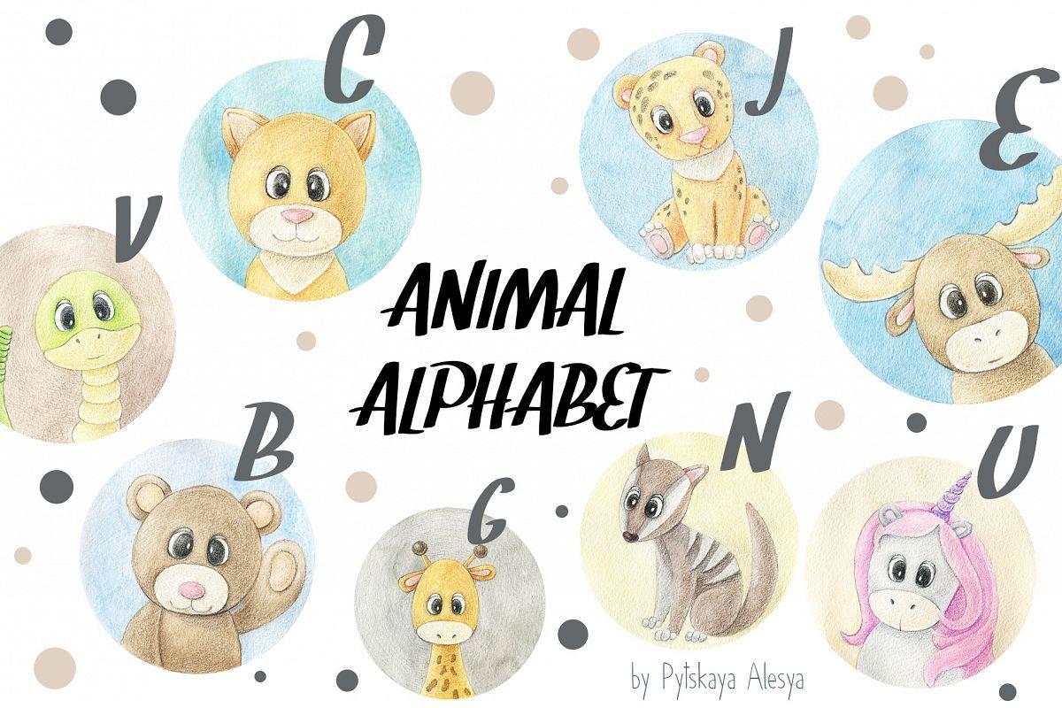 Animal ABC - Animal Alphabet example image 1