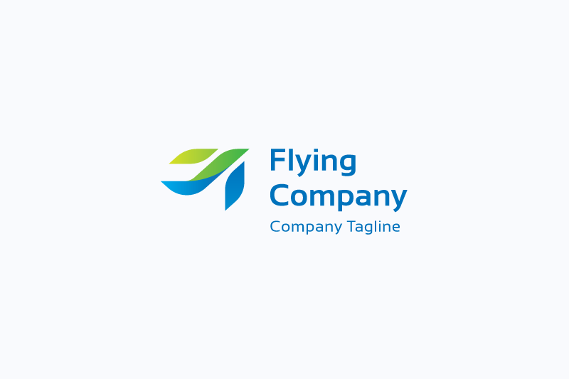 Flying Company Logo example image 1