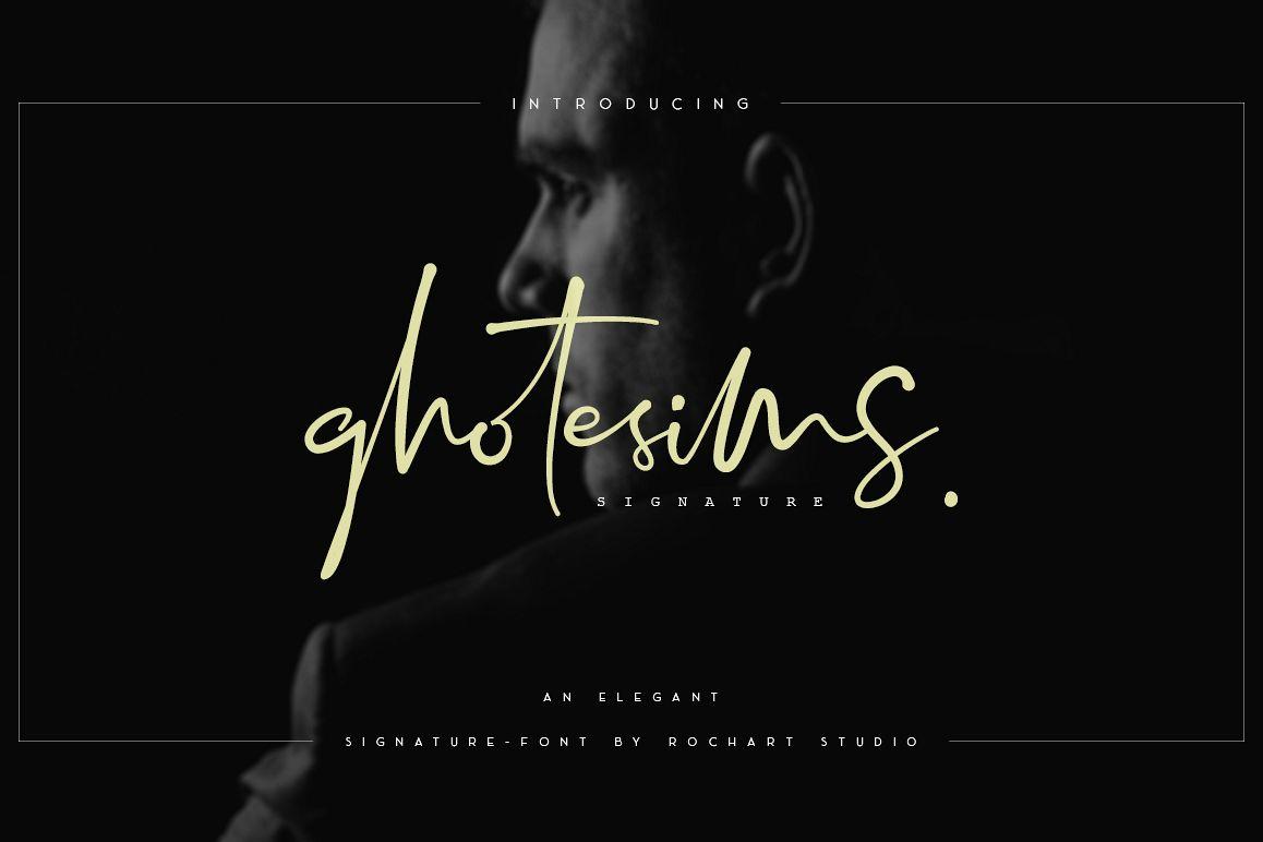 Ghotesims Signature example image 1